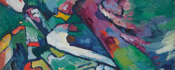 ¿A qué vanguardia perteneció Kandinsky?