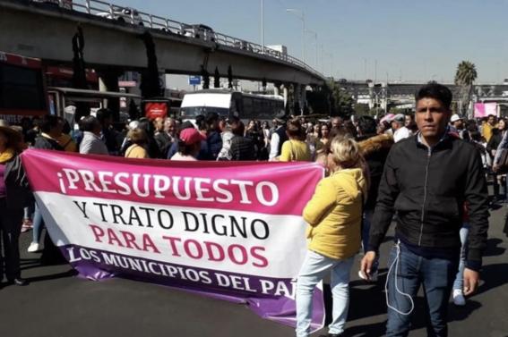 protestas campesinos san lazaro desquician cdmx 1