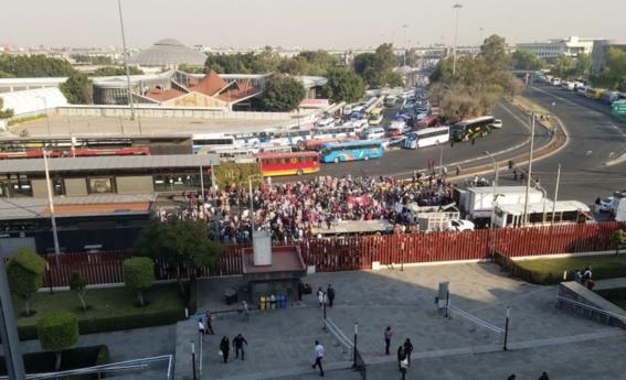 protestas campesinos san lazaro desquician cdmx 2