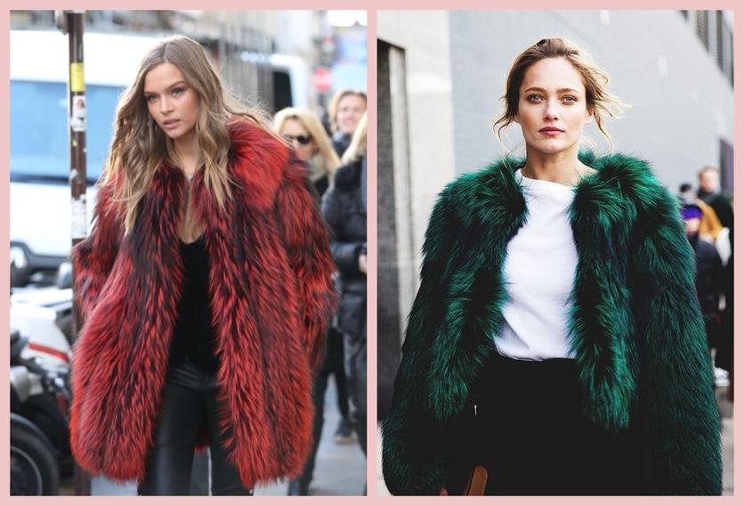 Cómo usar un abrigo de fur sin verte como un gran oso de peluche 2
