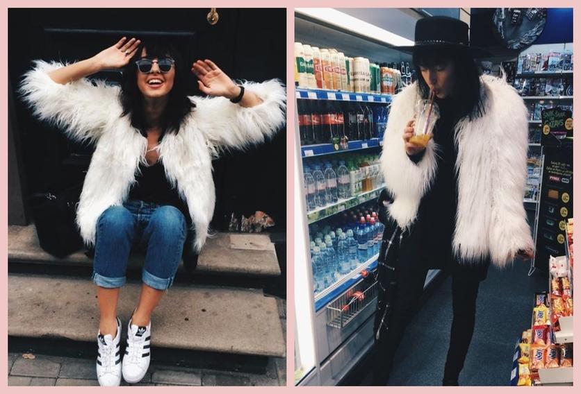 Cómo usar un abrigo de fur sin verte como un gran oso de peluche 7