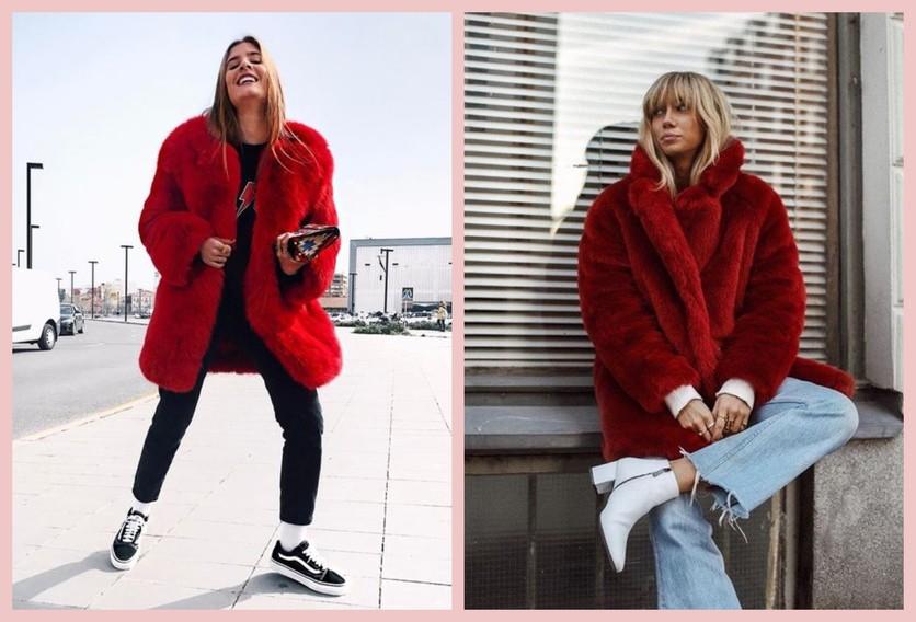 Cómo usar un abrigo de fur sin verte como un gran oso de peluche 9