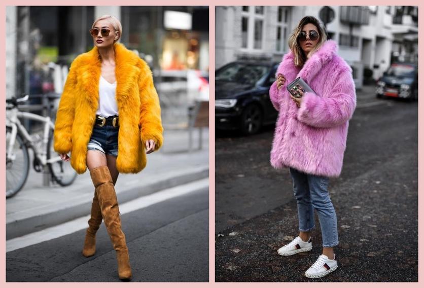 Cómo usar un abrigo de fur sin verte como un gran oso de peluche 10