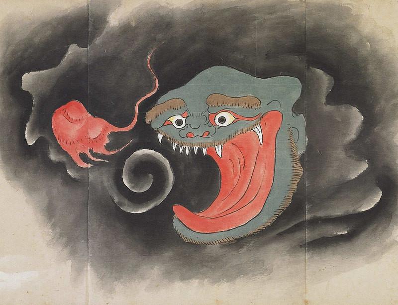 17 Illustrations From The Strangest Japanese Monster Compilation 8