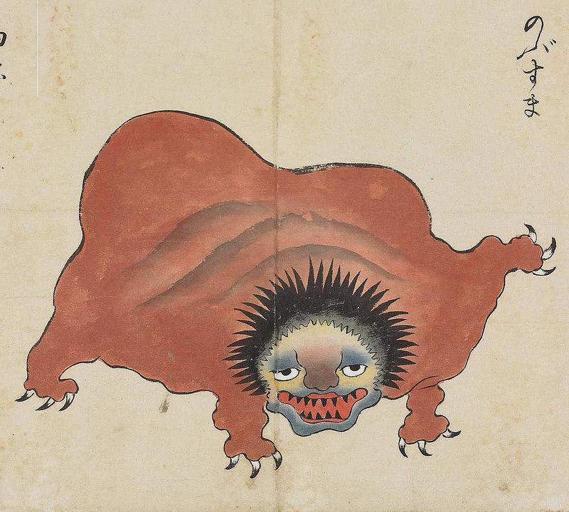 17 Illustrations From The Strangest Japanese Monster Compilation 9