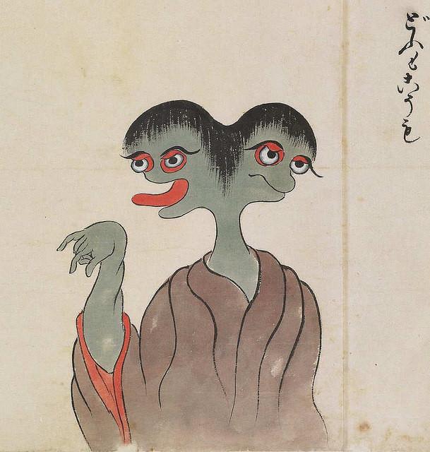17 Illustrations From The Strangest Japanese Monster Compilation 17
