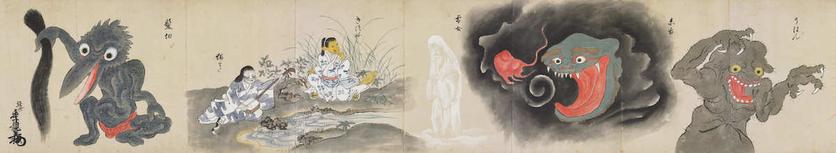 17 Illustrations From The Strangest Japanese Monster Compilation 22