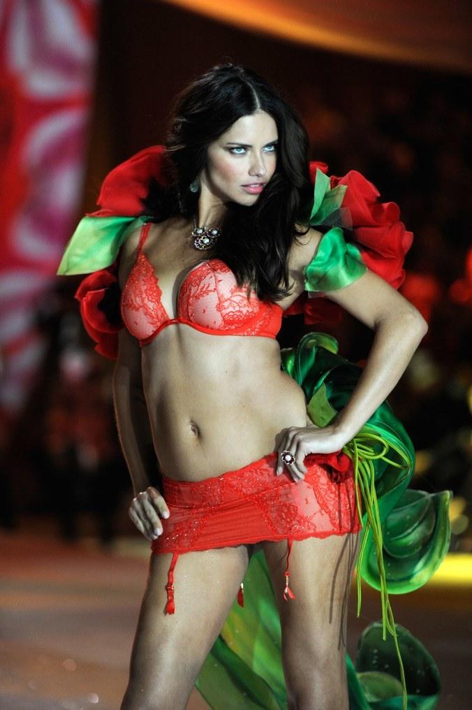 La evolución de Adriana Lima en 18 fotografías del Victoria's Secret Fashion Show 12