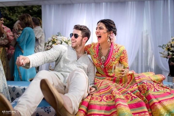 Los diferentes vestidos de novia que usó Priyanka Chopra 3