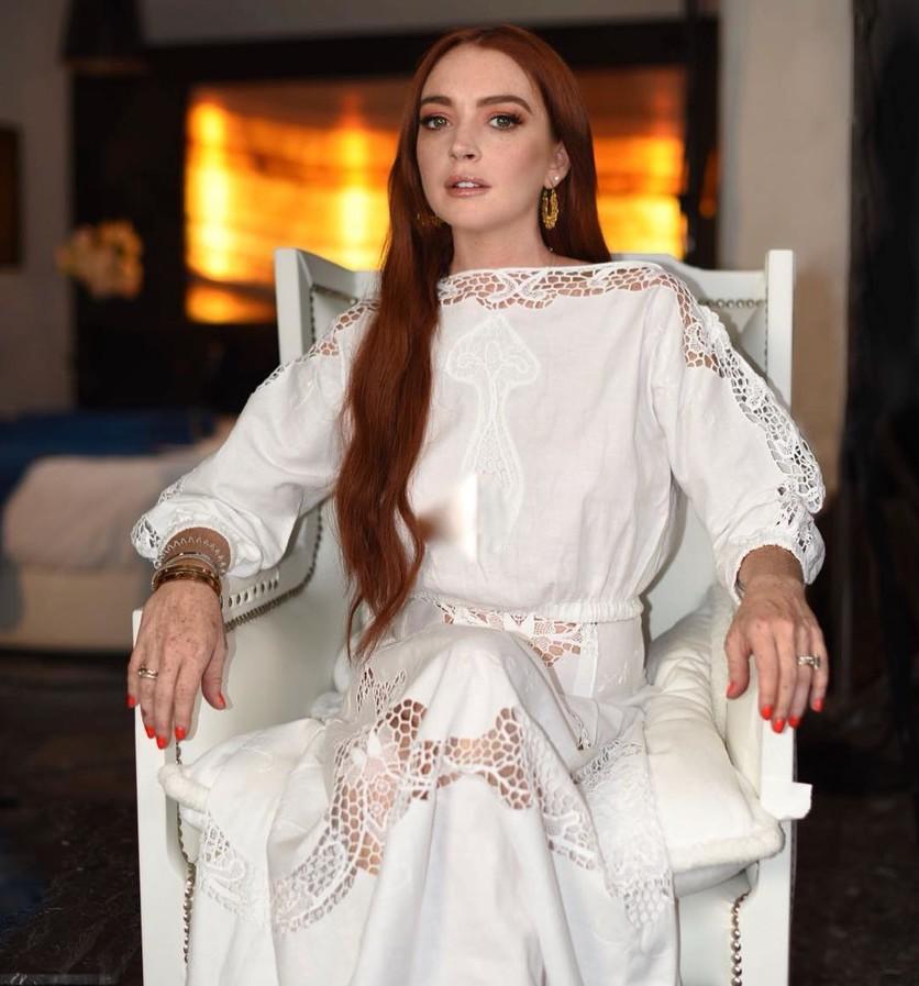 De la drogadicción a Princesa Disney: 12 fotos de la rehabilitación de Lindsay Lohan 8
