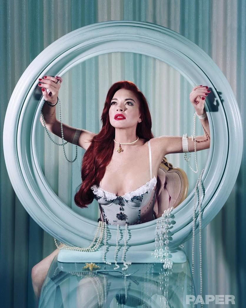 De la drogadicción a Princesa Disney: 12 fotos de la rehabilitación de Lindsay Lohan 11