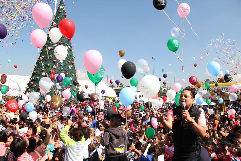 ¿Por qué no mandar la carta a los Reyes Magos en globos de helio? 1