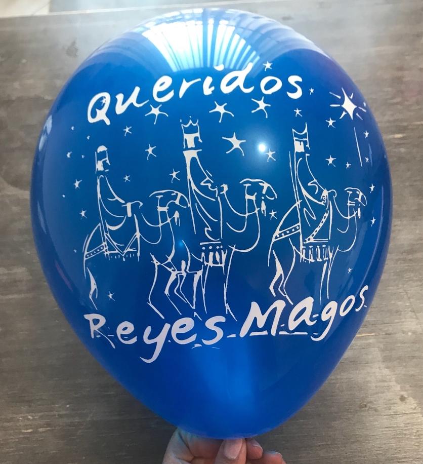¿Por qué no mandar la carta a los Reyes Magos en globos de helio? 3