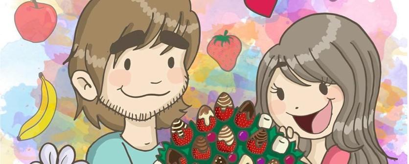 """15 Ilustraciones de Azúcar y Sal que sólo entenderán las personas que no saben decir """"te amo"""" 0"""