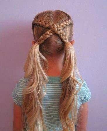 5 peinados fáciles con ligas perfectos para niñas  5