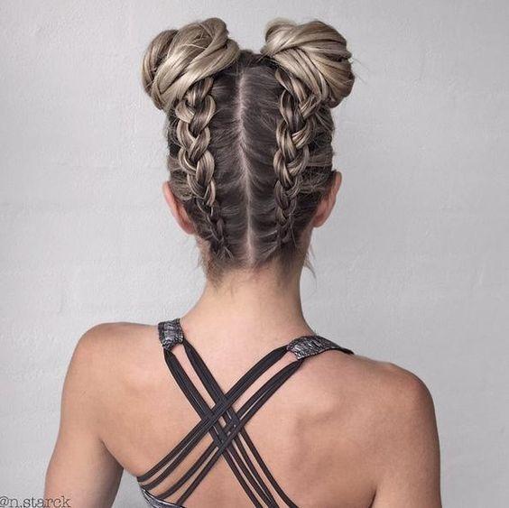 25 fotos de peinados que puedes hacer con trenzas 4