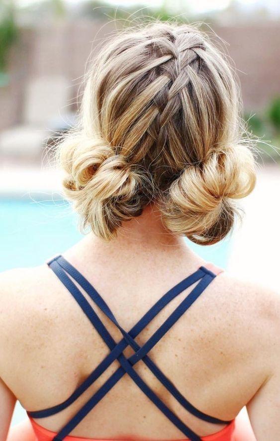 25 fotos de peinados que puedes hacer con trenzas 5