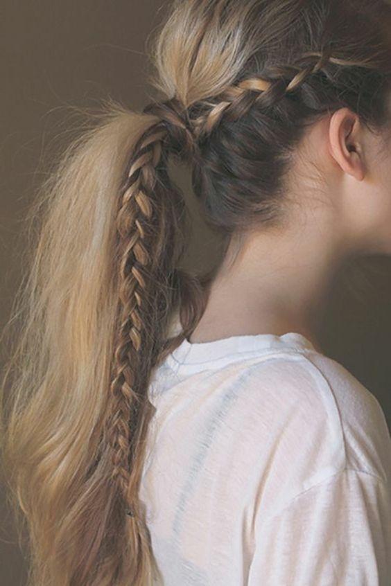 25 fotos de peinados que puedes hacer con trenzas 15
