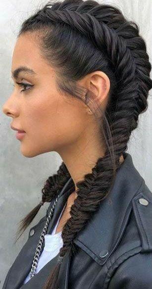25 fotos de peinados que puedes hacer con trenzas 16