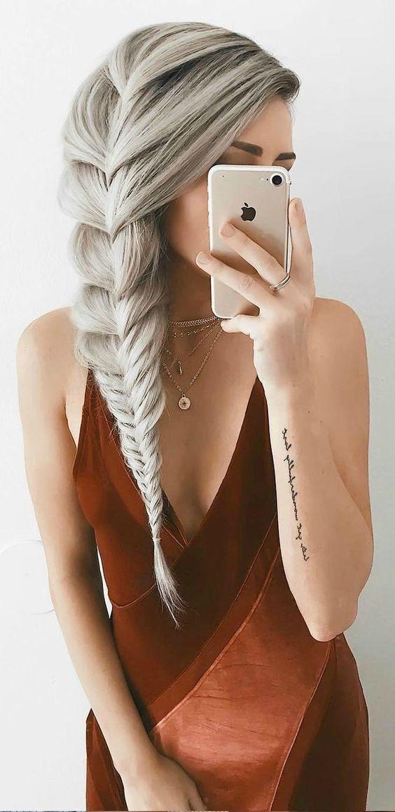 25 fotos de peinados que puedes hacer con trenzas 17
