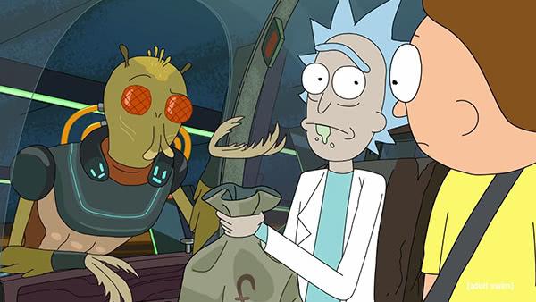 20 referencias ocultas en 'Rick y Morty' que sólo los expertos entendieron 2