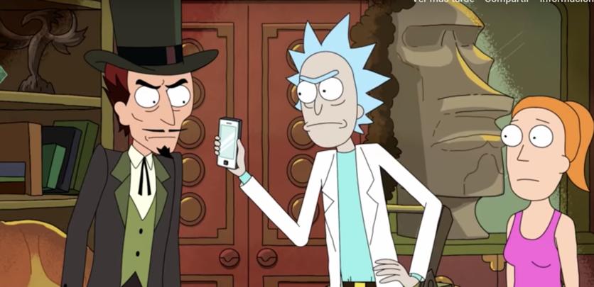 20 referencias ocultas en 'Rick y Morty' que sólo los expertos entendieron 5