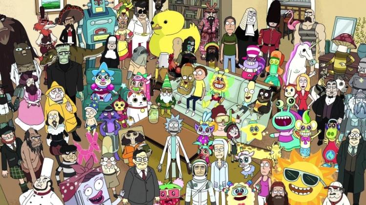 20 referencias ocultas en 'Rick y Morty' que sólo los expertos entendieron 20