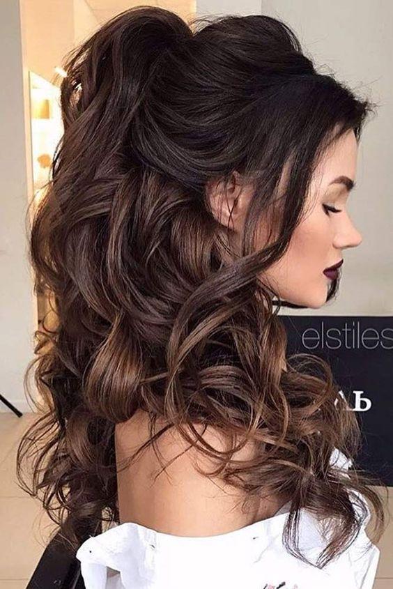 Peinados sencillos para salir de fiesta  4