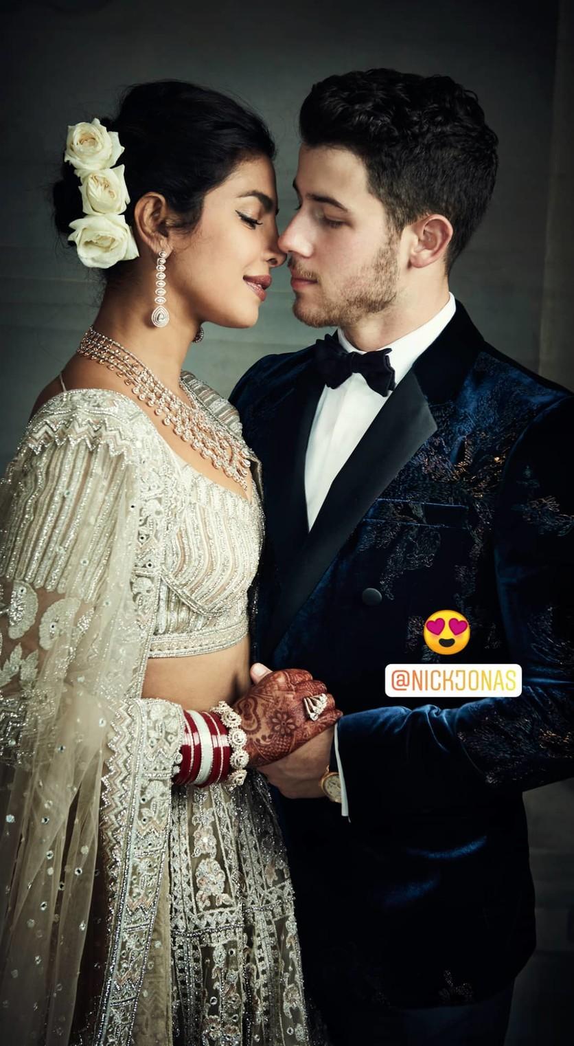 priyanka chopra nick jonas wedding photo