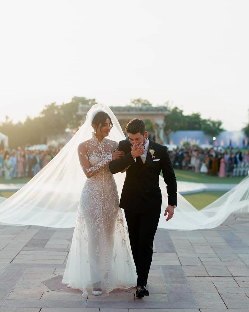 priyanka chopra nick jonas wedding dress Ralph Lauren