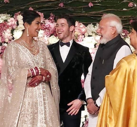 priyanka chopra nick jonas narendra modi
