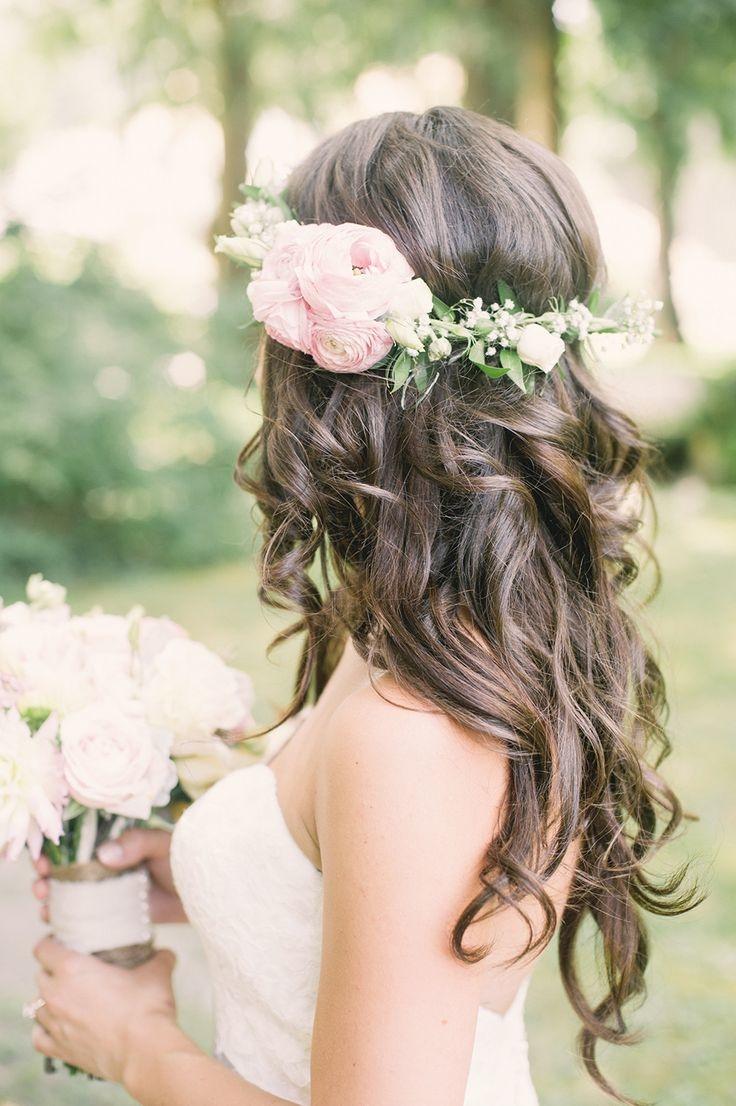 Peinados para una boda de día en jardín  2