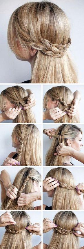 Paso a paso de peinados para cabello largo suelto 1