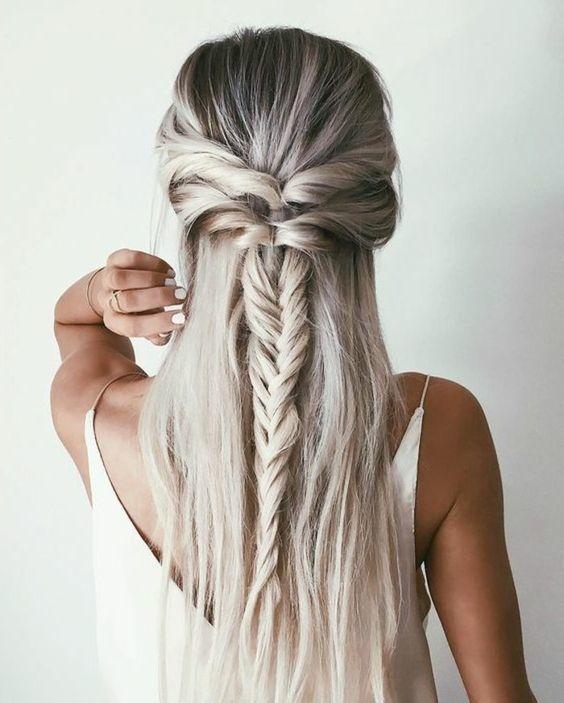 Paso a paso de peinados para cabello largo suelto 6