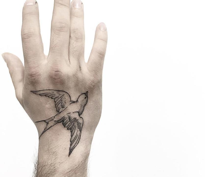 10 Ideas de tatuajes con técnica 'fine line' si buscas un diseño discreto  7