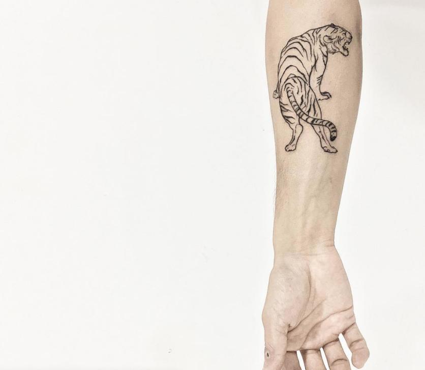 10 Ideas de tatuajes con técnica 'fine line' si buscas un diseño discreto  8