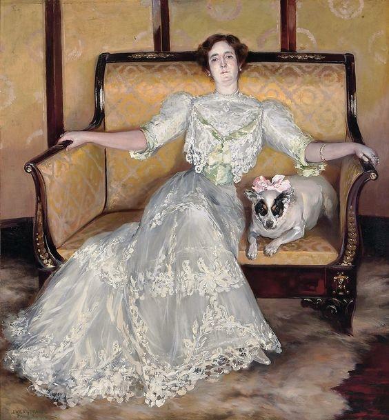 Los vestidos más bellos en pintura a lo largo de la historia del arte 5