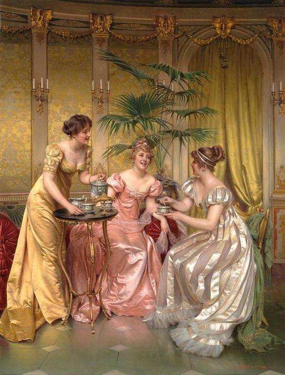 Los vestidos más bellos en pintura a lo largo de la historia del arte 7