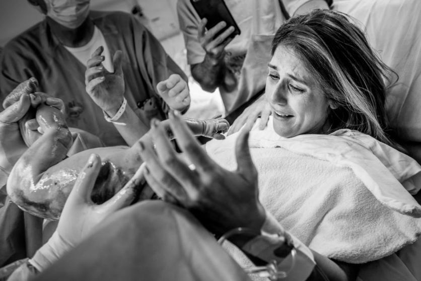 16 poderosas fotografías de todo lo que pasa en una sala de partos 9