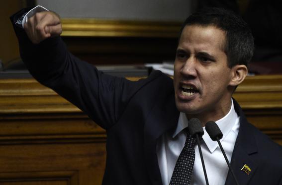 parlamento venezolano declara como usurpador a maduro por su reeleccion 1