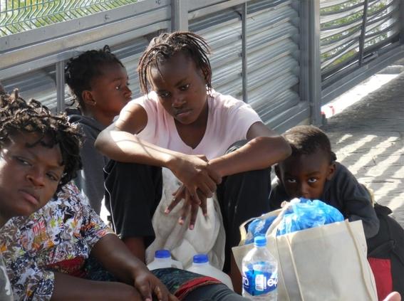 migrantes africanos llegan a coahuila 1