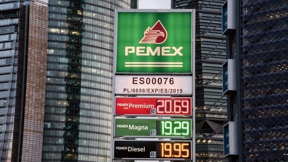 PEMEX es la petrolera más endeudada de todo el mundo