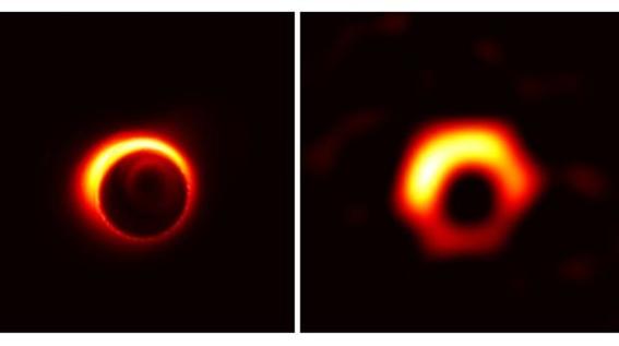 event horizon telescope publicara primera imagen de agujero negro 1