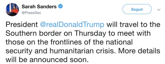trump visitara frontera mexico para presionar construccion del muro 1