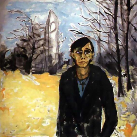 la vida de david bowie a traves de sus pinturas 6
