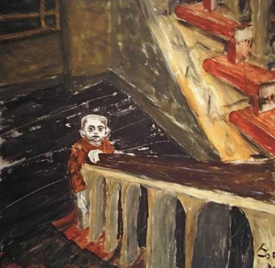 la vida de david bowie a traves de sus pinturas 7