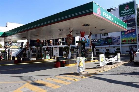 reportan desabasto de gasolina en 10 gasolineras de cdmx 2