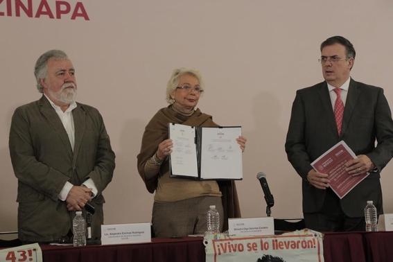 vamos a esclarecer caso ayotzinapa olga sanchez 2