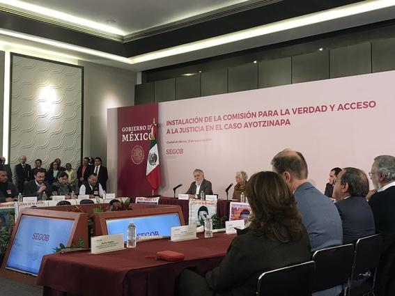 vamos a esclarecer caso ayotzinapa olga sanchez 3
