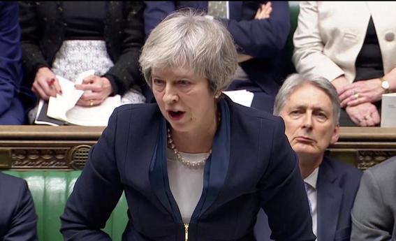 parlamento britanico rechaza acuerdo brexit reino unido 2